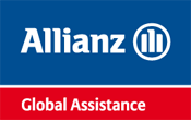 allianz global assistance, logo assicura viaggio